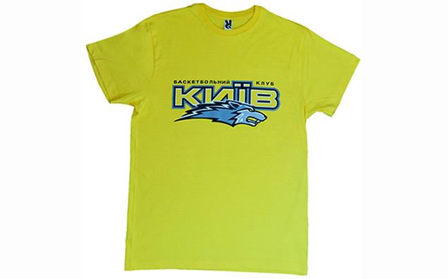 Футболка з горизонтальним лого БК 'Київ'