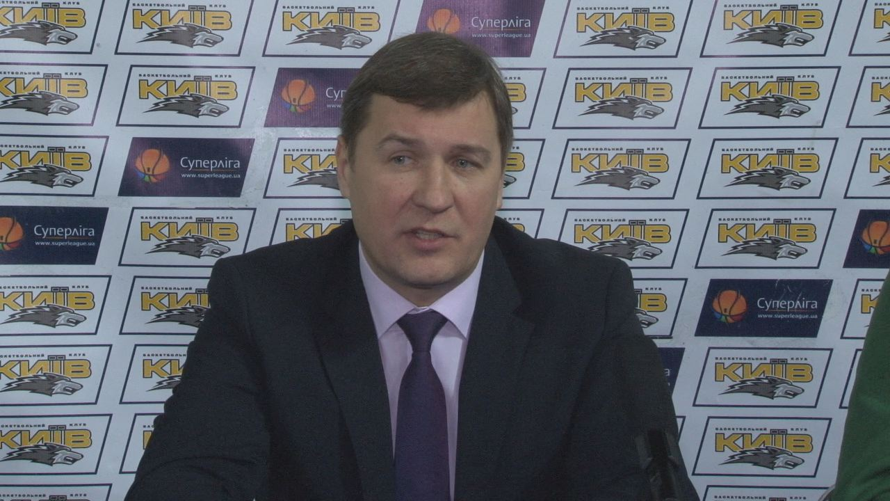 "Press-conference after the game BC ""Kyiv"" vs BC 'Donetsk'"