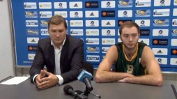 Press conference BC 'Kyiv' after game with 'Mykolaiv' (17/10/13)