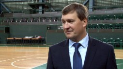 After game comments of   BC 'Kyiv' and BC 'Cherkassky Mavpy' Coaches (20/10/13)