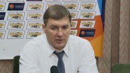 Press conference after the game BC 'Kyiv' - BC 'Goverla'