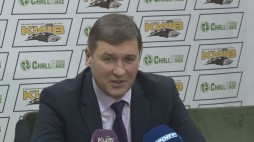 "Press-conference after the game BC ""Kyiv"" vs. BC ""Triumph"""
