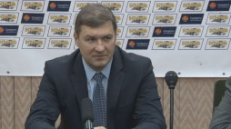"Press-conference after the game BC ""Kyiv"" vs. SC ""Kryvbas"""