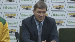 "Press-conference after the game BC ""Kyiv"" vs. BC ""Kormend"""